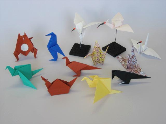 クリスマス 折り紙 折り紙 鳥 : p-s-k.co.jp