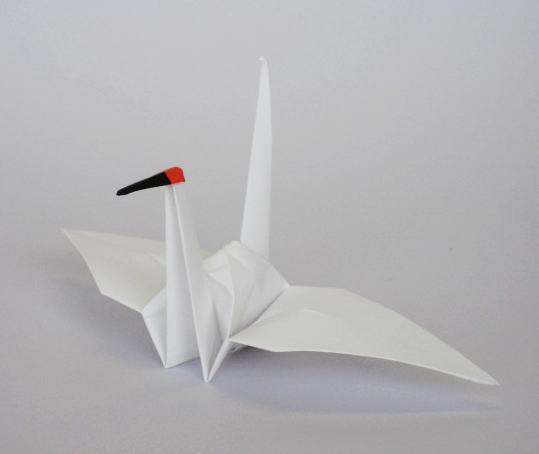 簡単 折り紙 折り紙 ツル : p-s-k.co.jp